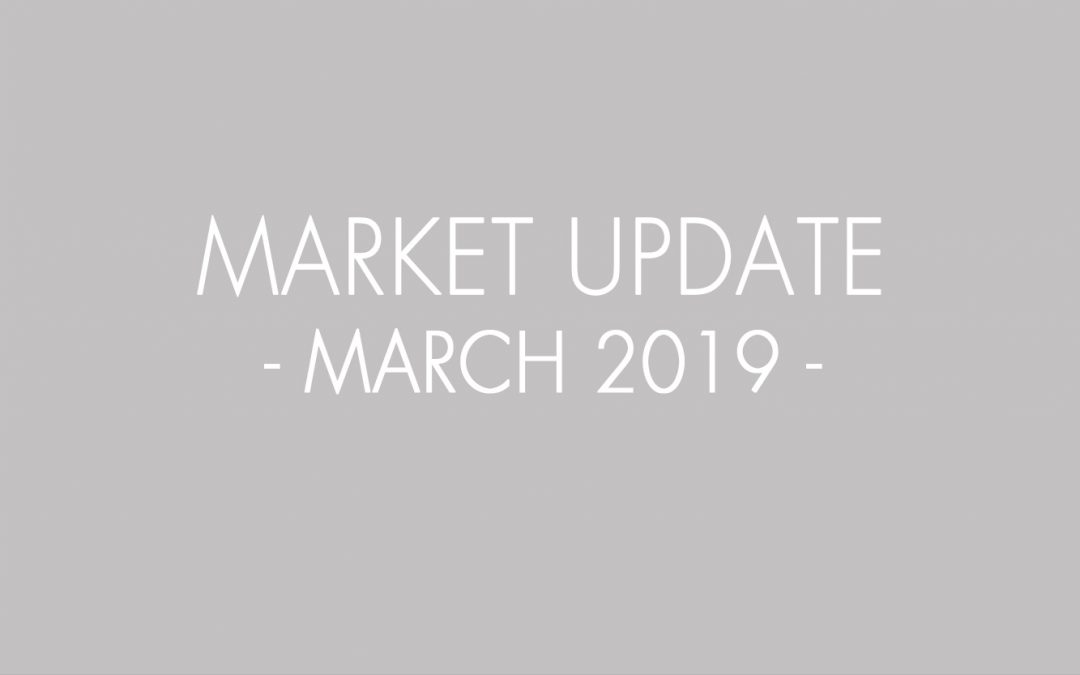 How's the market? Highlights in this March 2019 Real Estate and Mortgage Flash Report